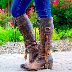 Junk Gypsy Trail Blazer boots size 9